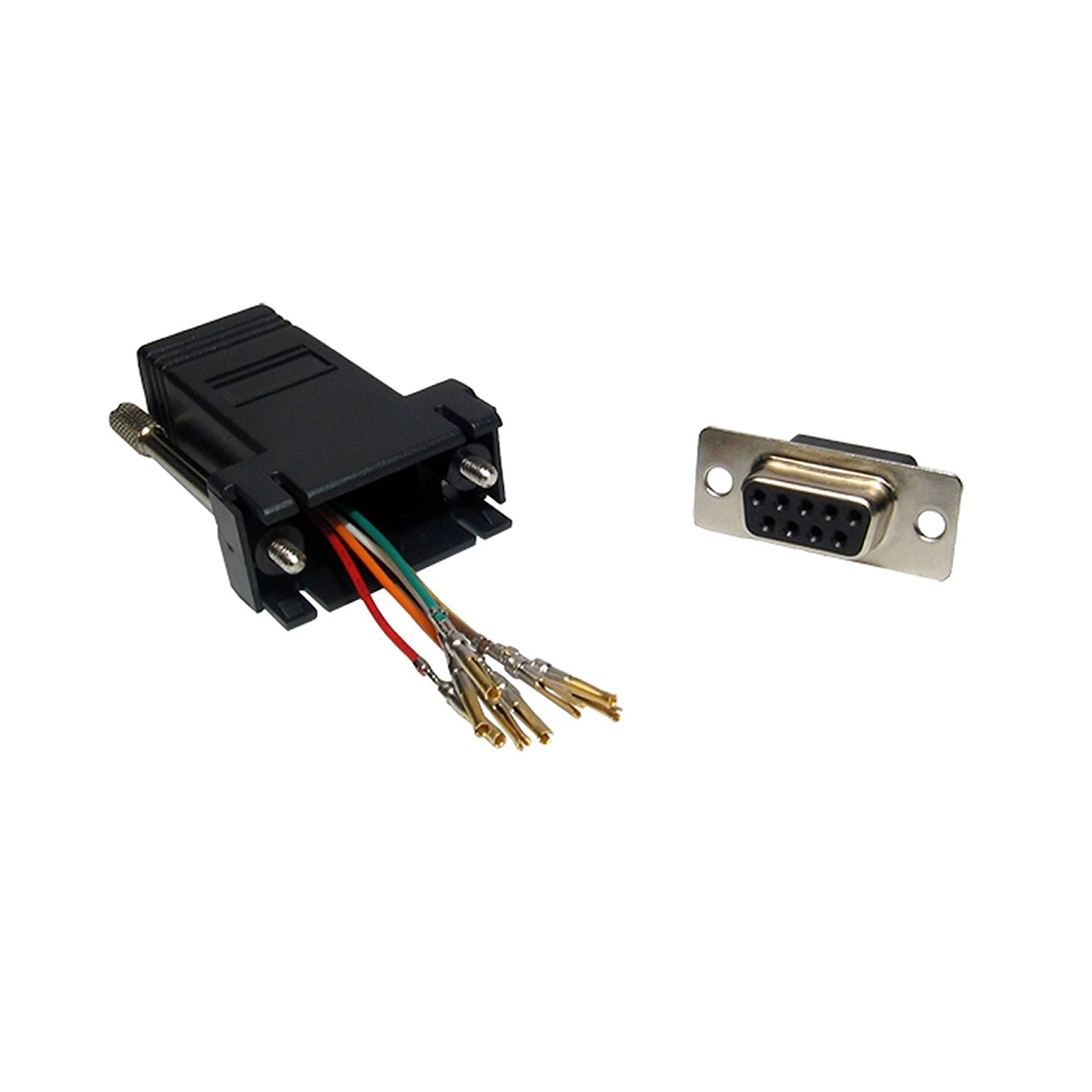Cheap Db9 To Rj45 Pinout Find Deals On Line At Connector Wiring Get Quotations Kenable Female Socket 9 Pin Serial Adapter