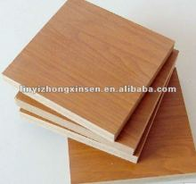 HDF/hard board /Fibreboard with melamine fancy veneer