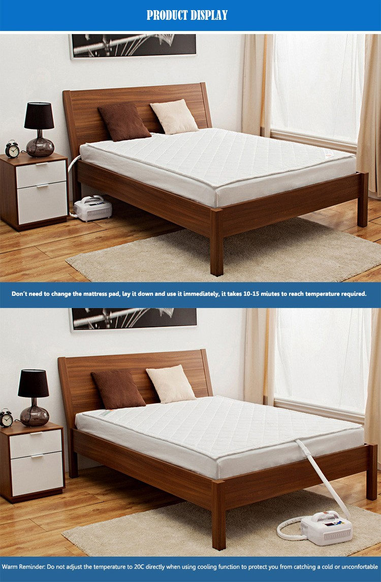 Safe And Low Electric Cost Twin Xl Water Cooling/warm Mattress Pad Bed -  Buy Water Cooling/warm Mattress,Twin Xl Cooling Mattress,Water Cooling Pad