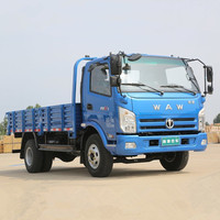 WAW Light Truck With Good Quality 2.5 Ton Loading Capacity Cargo Truck for sale