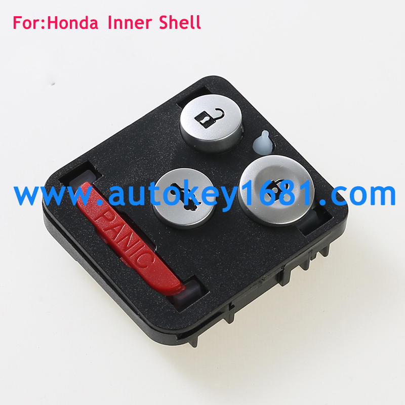 3+1-Buttons Keyless Entry Remote Key Fob Cover for Honda Accord