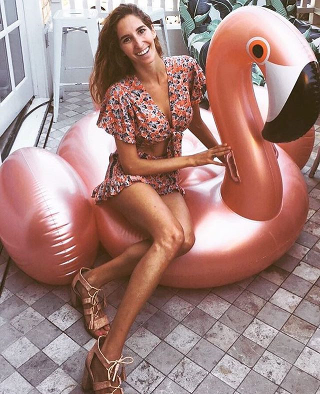 NEW Fashion Wholesale Water Sports Play Equipment Giant 1.9m Inflatable Rose  Gold Pink Flamingo Pool 178acd53dafd