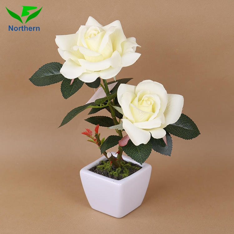 High Quality Wedding Decoration eternal Artificial Flowers rose
