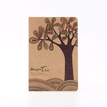 Custom Design Print Kraft Hardcover Rude Wervelkolom Papier A5 <span class=keywords><strong>Oefening</strong></span> Notebook