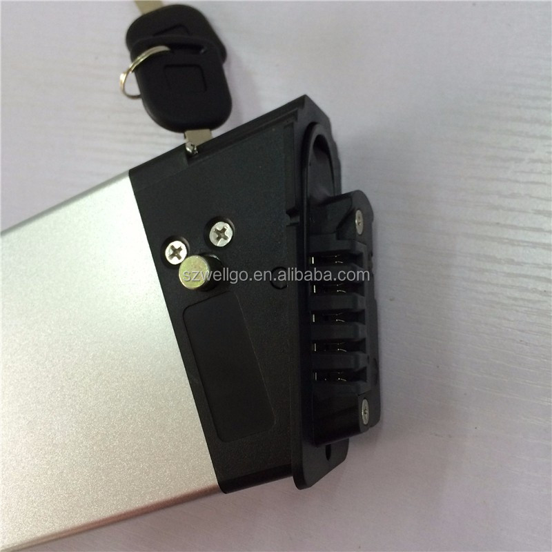 Rechargeable 36v 10.4ah lithium li-ion battery pack electric bike battery for ebike Bicycle