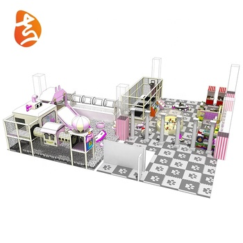 Wholesale custom children plastic indoor playground equipment for toddler