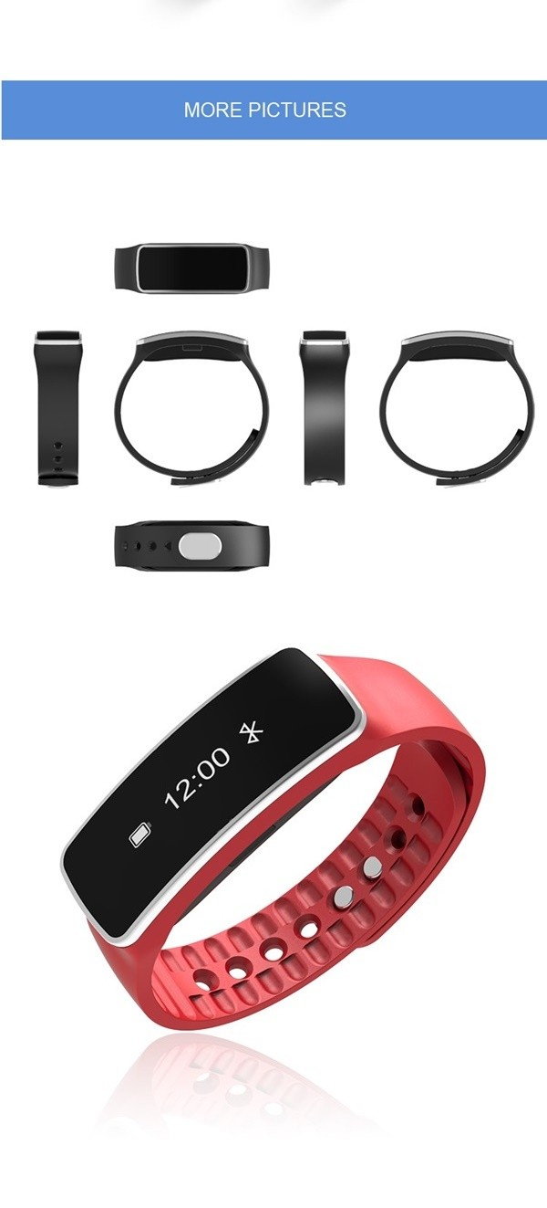 Factory Price OEM touch screen V5 smart bracelet,intelligent Fitness Healthy Tracker wristband For Android samsung