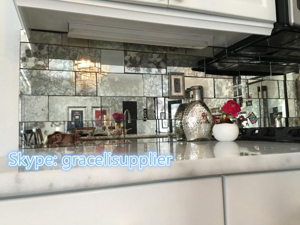Piastrelle specchio best piastrella a mosaico in vetro a specchio