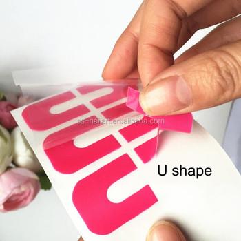 New Arrival 3d Easy Peel Off Nails Art Tape Buy 3d Easy Peel Off