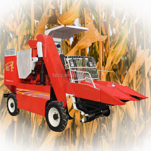 walking tractor small corn harvester combine machine for sale