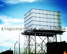 galvernised steel structural water tank for Africa