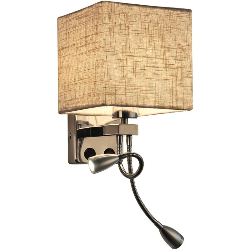 Hot Design Indoor E27 Bedside Modern Led Reading Wall Lamp For Hotel