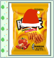 puffed food snack food grade plastic inflatable air bag packaging/vacuum/cosmetic plastic bags
