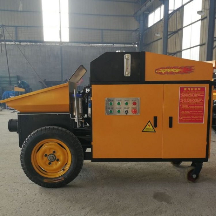 High quality factory supply electric/diesel power concrete pump