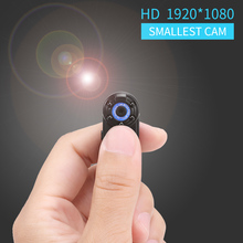 Smallest Portable 1080P Full HD 720P Dual Mode Mini DV Cam Camcorder Micro Infrared Night Vision Motion Detection Cam DVR Spy