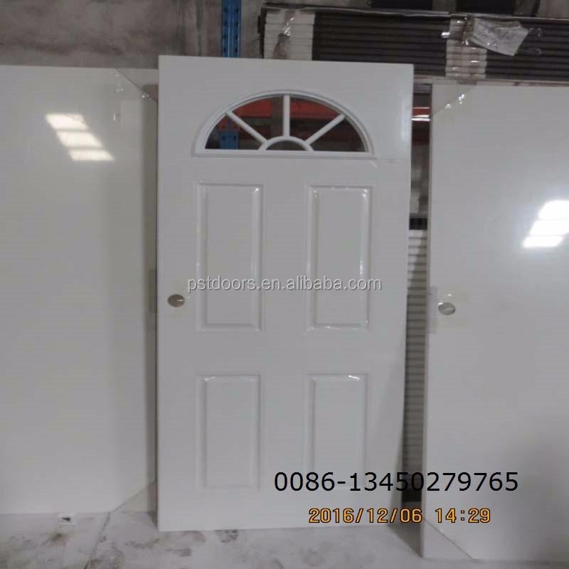 Metal Puertas De Vidrio Con Madera-borde De Color Blanco - Buy ...