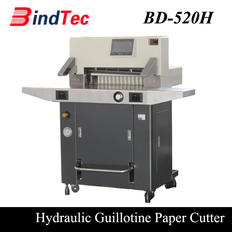 BD-520H Overseas Machinery Hydraulic Cutting Paper Machine