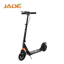 hot sell wholesale adjustable folding 2 big wheel pro adult kick scooter