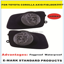 Top quality auto fog lamp for Toyota Corolla Axio Fielder 2007 ON