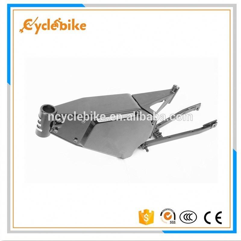 CE bici eléctrica marco suspensión downhill mountain bike-Bastidor ...