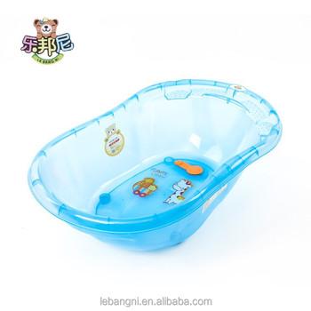 Transparent En Plastique Baignoire Bébé Bleu Buy Mini Bain En