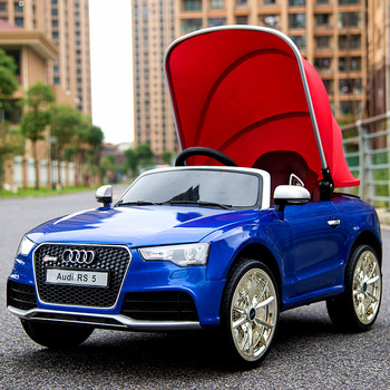 Licensed Audi Rs Kids Electric Car With Remote New Model - Audi recent model