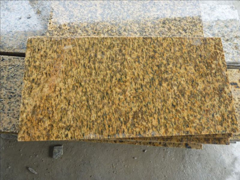 Chinese Yellow granite Tiger Skin Rust