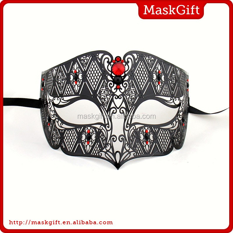 Wholesale beautiful lace metal mask masquerade masks