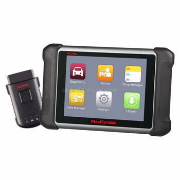 2017 AUTEL MaxiSys MS906BT Strumento Diagnostico Auto senza fili MS906 Bluetooth OBD2 ECU di Codifica Scanner meglio di MaxiDAS DS708