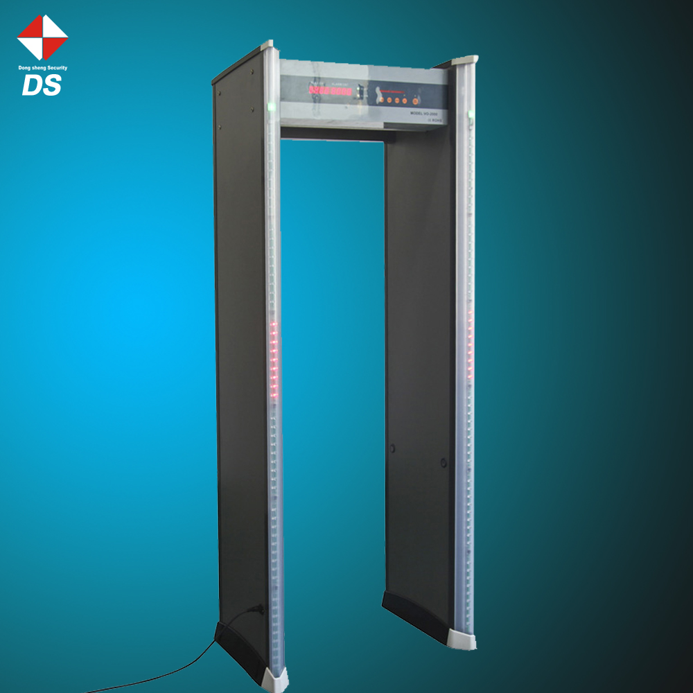 Entrance security systems 6 Zone body scanner