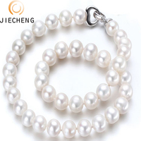 10-11mm aaaa simple and cheap shanxiahu freshwater pearl necklace