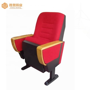 Modern style auditorium chair/3d cinema chairs/folding theatre chairs