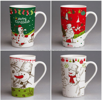 Christmas Mugs.Ceramic Porcelain Christmas Musical Mug Buy Christmas Musical Mug Funny Christmas Mugs Christmas Coffee Mugs Product On Alibaba Com