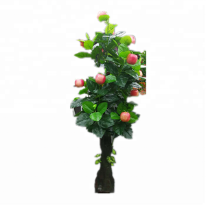 Apple tree artificial latex fruit tree plant for home decor