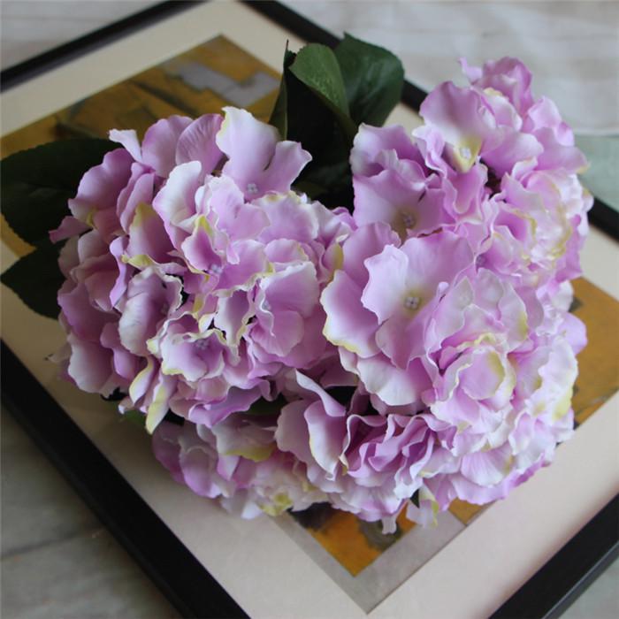 1 Bunch 5 Heads Kunstliche Silk Blumenstrauss Hochzeit Dekoration