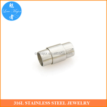 High quality bracelet jewelry accessories parts with stainless steel magnetic clasp MJMBK-226
