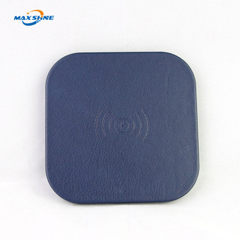 High quality cell phone mini qi mobile wireless charger for iphone X 8 8 Plus
