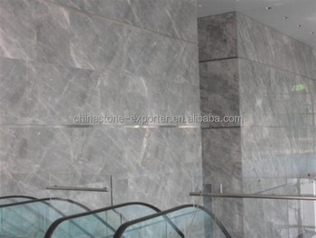 Marmo grigio piastrelle bagno di lusso fior di bosco di marmo