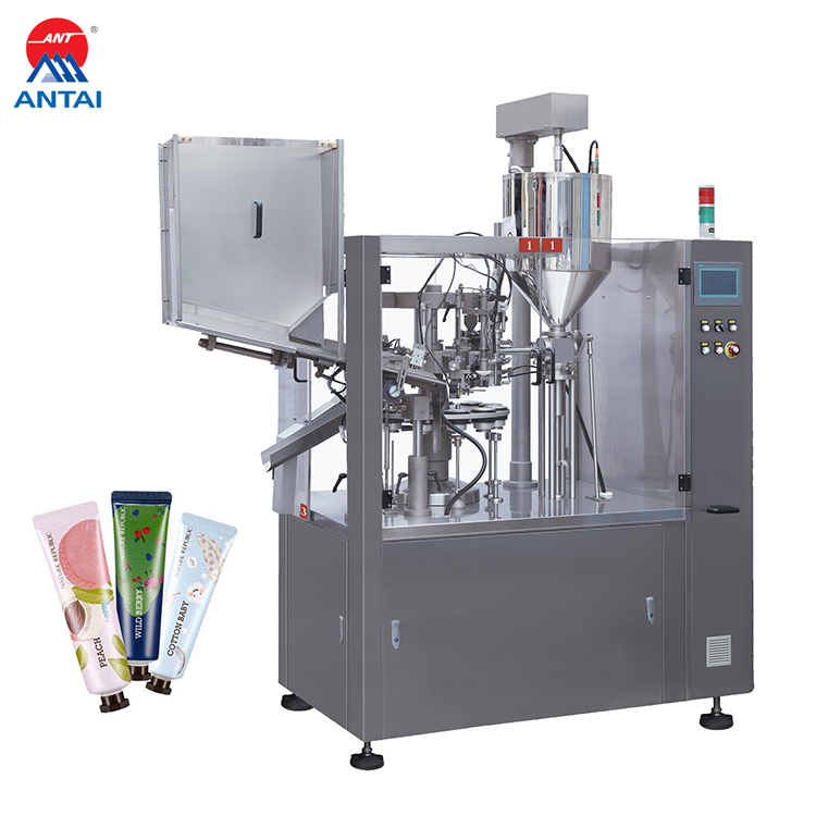 NF-80 Automatic Soft Alu Tube food Pharmaceutical Filling And Sealing Machine