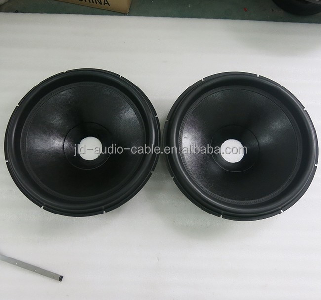 18 inch subwoofer speaker cones with Best quality Non-pressed paper speaker cone subwoofers parts