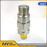 stainless steel 304 female industrial socket quick connect coupling pipe fitting NW1030
