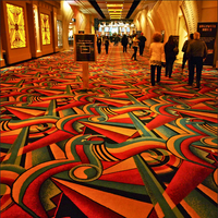 China Fire Resistant Gambling High Quality Axminster Carpet Factory Made for Casino