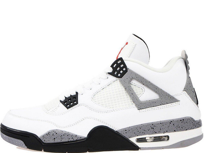 Nike Air Jordan 4 Retro White Cement (308497-103)