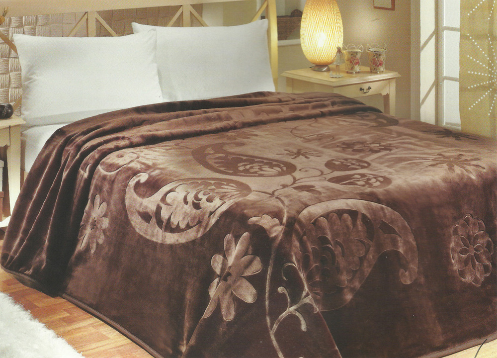 korean mink king size blanket solaron blanket - King Size Blanket