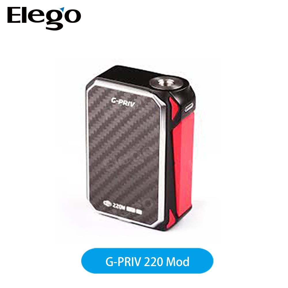 Hot Selling New Genuine Smoktech G-Priv Box Mod with Touch Screen 220W Kit