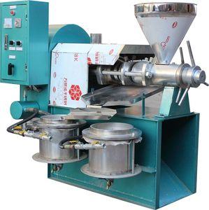 China best manufacturer cooking oil making machine soyabean oil expeller machine