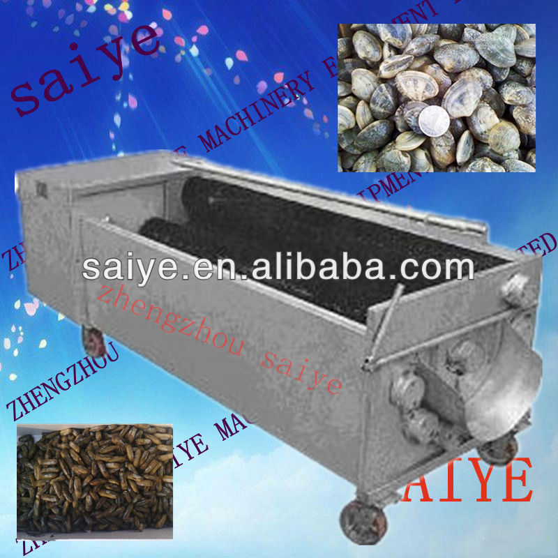 mussel cleaning machine