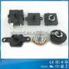 waterproof 10A125V 6A250V screw fixed electronic home appliances safety paddle level rotary switch