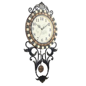 Clock Parts Internal Pendulum Antique Clock Made Of Metal - Buy Antique  Clock Made Of Metal,Antique Clock,Clock Parts Internal Pendulum Product on