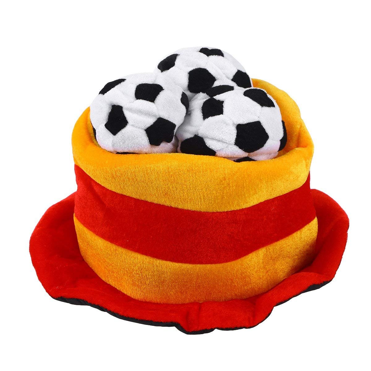 6b947a16a0a Get Quotations · BESTOYARD Spain Flag Soccer Ball Party Hat Cap 2018 World  Cup Football Fan Hat Cap